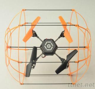 2.4G R/C UFO With Wall Climbing Function