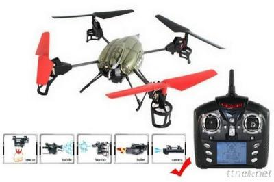 V959 2.4G 4Ch 3D New Quad Copter With Camera