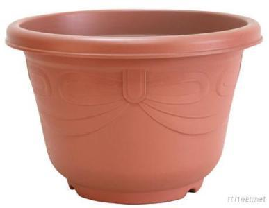 Butterfly-Knot Round Pot