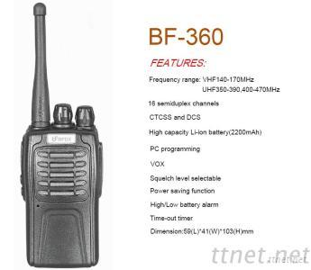 BF-360 Commercial Wakkie Talkie