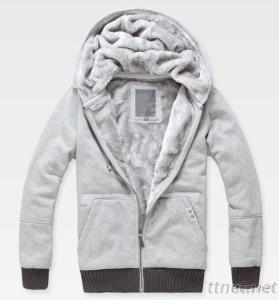 Men'S Fashion Hooded Thicken Sweater Jackets