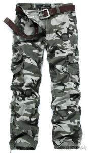 Men'S Fashion Camouflage Overall Pants Trousers