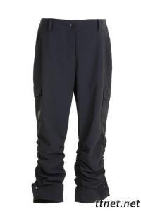 Female Light Fast Wicking Cropped Pants