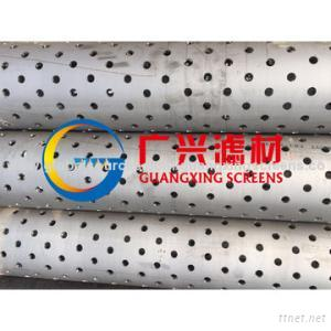 Perforated Stainless Steel Casing Pipe