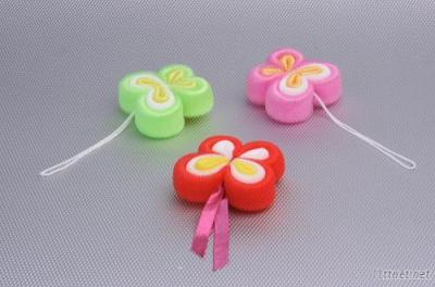 Butterfly Flower Bath Ball(With Ribbon/Rope)