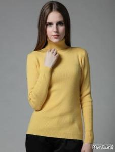 Women'S Tight The High-Necked Cashmere Sweater