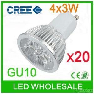 12W 60HZ 110V GU10 LED Lightings