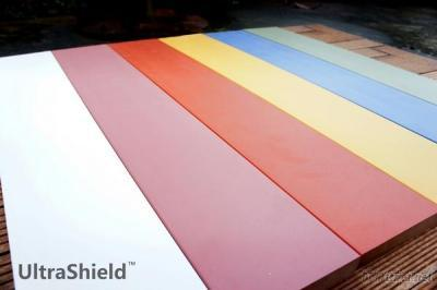 UltraShield WPC Deck, Latest Coextrusion Technology, Additional Protective Shield