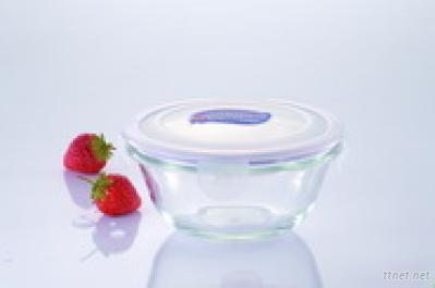 Microwave Glass Food Container(400ml)