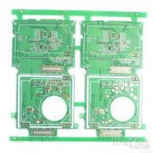 2 Layers Immersion Gold Electronic PCB With 1Oz Copper Thickness