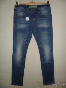 Mid Blue Denim Woman'S Jeans Casual Style Jeans