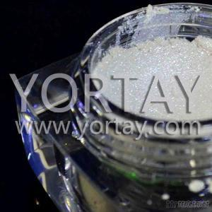 Cover Color Glass Crafts Sparkle White Pearl Powder