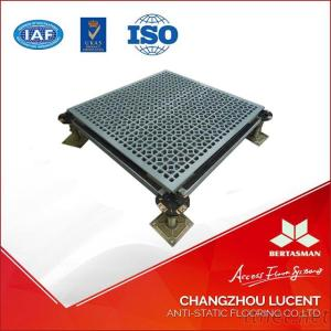 Aluminum Raised Access Floor With Perforated System