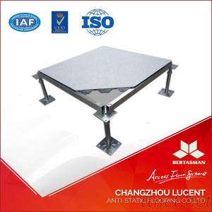 HPL/PVC Raised Access Flooring With Strings And Pedestal