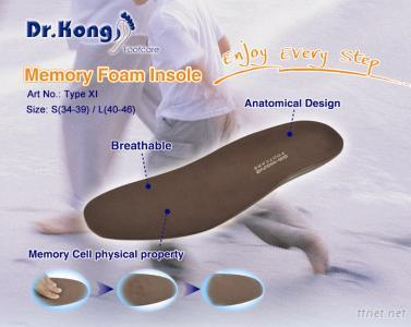 Memory Form Insoles