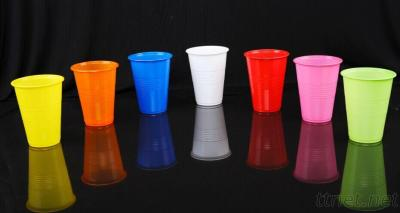 16oz(500ml)single color/double color PP water drinking cup without Lid - 1000 / Case
