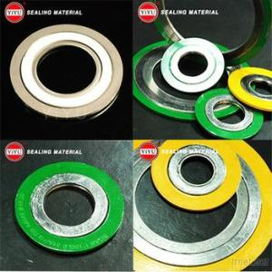 Spiral Wound Gasket Basic Type With Inner And Outer Rings