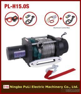 4X4 off Road/Truck/Jeep 15000Lb/7000Kg/7Ton Heavy Weight DC 12 V Synthetic/Nylon Rope Wireless Remote Trailer Electric Winch