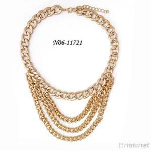 Chain Necklace Designs Simple Gold Chain Necklace With Wholesale Fashion Jewelry In China