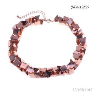Fashion Gold Jewelry With 2015 High Quality Necklace Plated In Rose Gold Jewelry Making Supplies