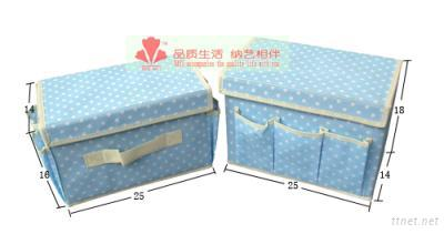Oneiromancy Cosmetic Storage Set (Two Box For One Set) Blue