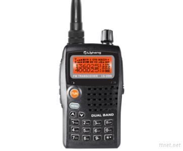 Dual Band UV Walkie Talkie Handheld Two Way Radios With 1750Hz Tone Repeater