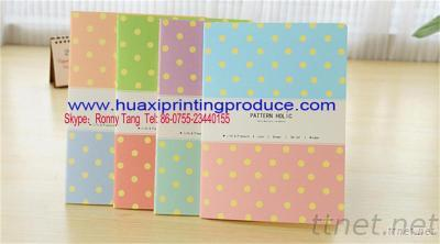 Notebook With Littlwe Dots