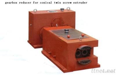 Gearbox Reducer For Conical Twin Screw Extruder