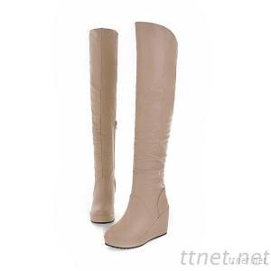 2013 Autumn And Winter Shoes Slope With A Long Section Of The New Women Boots Women Boots