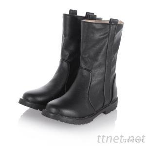2013 Warm Winter Patent Leather Flat With Plastic Sleeve Bottom Round Flat Round Women'S Boots