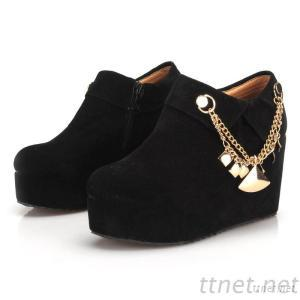 2013 Korean Version Of The New Winter Shoes Slope With Heavy-Bottomed Boots Matte