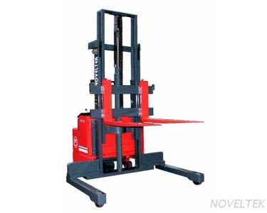 PPS-10W/15W/18W/20W Powered Pallet Stacker (Wide Straddle Type) (1 Ton/1.5 Tons/1.8 Tons/2 Tons)