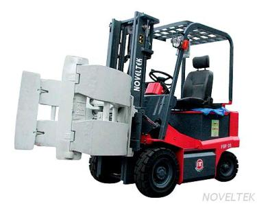 ABF-15/20/25 + PAPER ROLL CLAMP ADVANCED SIT-ON ELECTRIC FORK LIFT TRUCK+ PAPER ROLL CLAMP (AC SYSTEM) (1.5 TONS / 2 TONS / 2.5 TONS)
