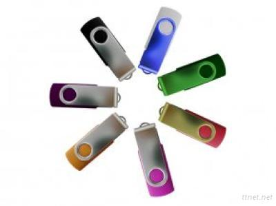 32GB swivel twist metal usb pen drive disks gifts as promotional items OEM/ODM with customized logo