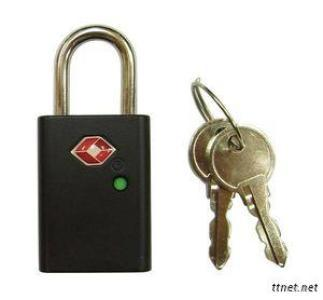 LKOT-0100 Key Type TSA Padlock (With Indicator)