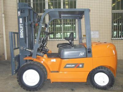 L Series  4-5T Internal Combustion Counterbalanced Forklift Truck