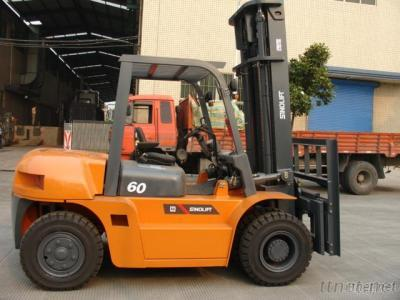 L Series 5-7T Internal Combustion Counterbalanced Forklift Truck