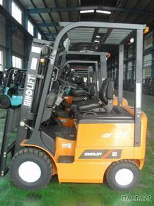 CPD10-15 DC Electric Counterbalanced Forklift Truck