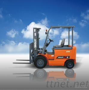 CPD20-30 DC Electric Counterbalanced Forklift Truck