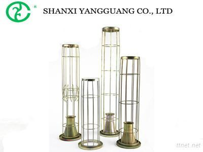 Galvanized Industrial Dust Collector Filter Bag Cage