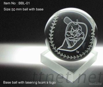 Crystall Ball With 3D Laser
