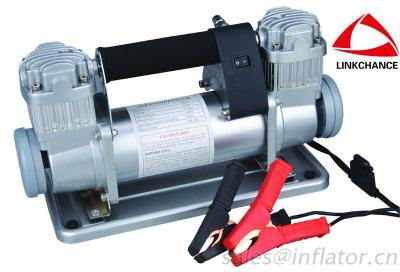 Car Tire Inflator/ Pump/ Air Compressor 40Mm Double Cyllinders SUPER POWER