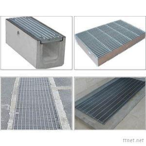 High Quality 30Mm Pitch Steel Bar Grating Steel Welded Grill Grates