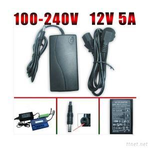 12V 5A Laptop Power Adapter Supply