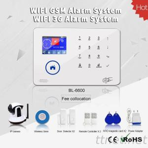 DIY Different Combinations Of Sensors WIFI GSM Wireless Home Alarm Security System Workable With IP Carmera