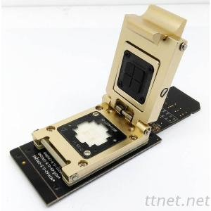 EMMC Test Socket to SD Interface Nand Flash Pogo Pin BGA153/169 Reader Chip Size 12X16Mm Pitch 0.5Mm Smart Phone Data Recovery