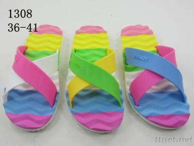 Colorful Rainbow Outdoor Sandals