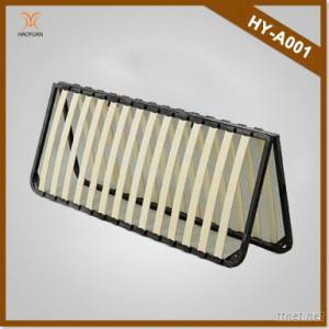 Haoyuan Furniture Wooden And Metal Slatted Bed Frame