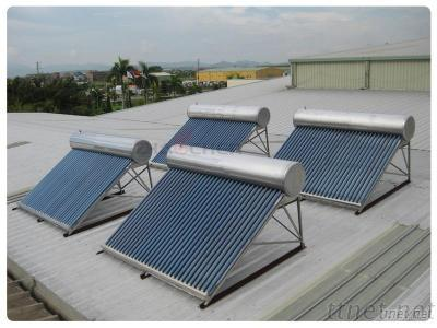 Compact Low Pressurized Solar Water Heater