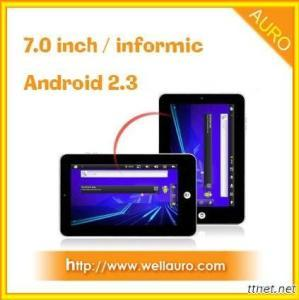 7 Inch Infotmic 1GHz Android 2.3 Wifi Tablet PC